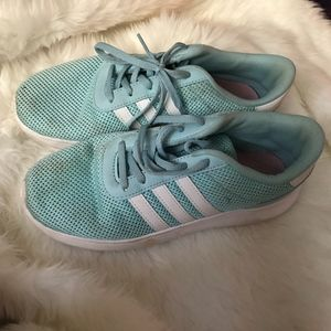 men's adidas neo size 6 comfort footbed running